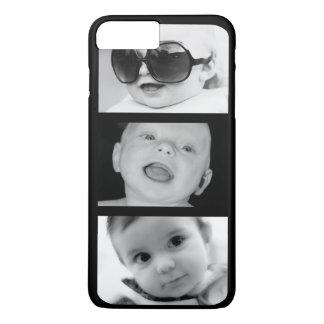 Crear-Su-Propio 3 caso más del iPhone 7 de la foto Funda iPhone 7 Plus