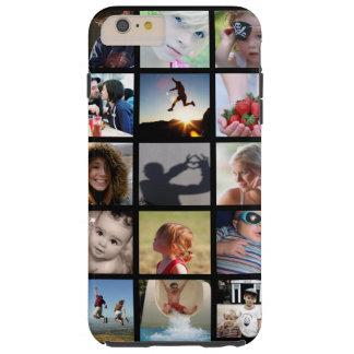 Crear-Su-Propio caso más del iPhone 6 del collage Funda Para iPhone 6 Plus Tough
