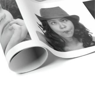 Crear-Su-Propio papel de regalo del collage