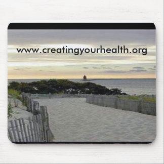 crear su salud mouse pad