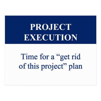 Crear un plan de la ejecución del proyecto 2 postales