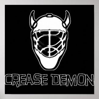 Crease Demon Poster