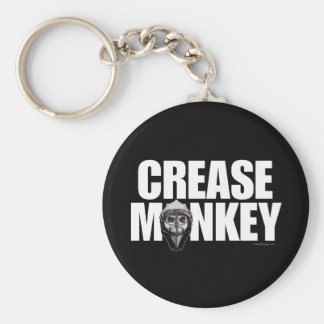 Crease Monkey (Hockey Goalie) Keychain