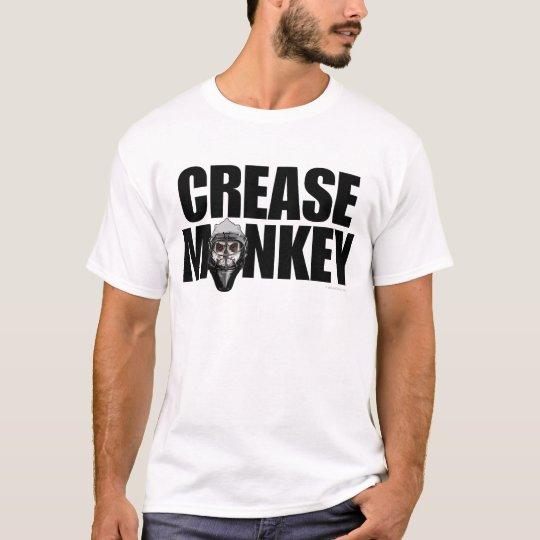 Crease Monkey (Hockey Goalie) T-Shirt