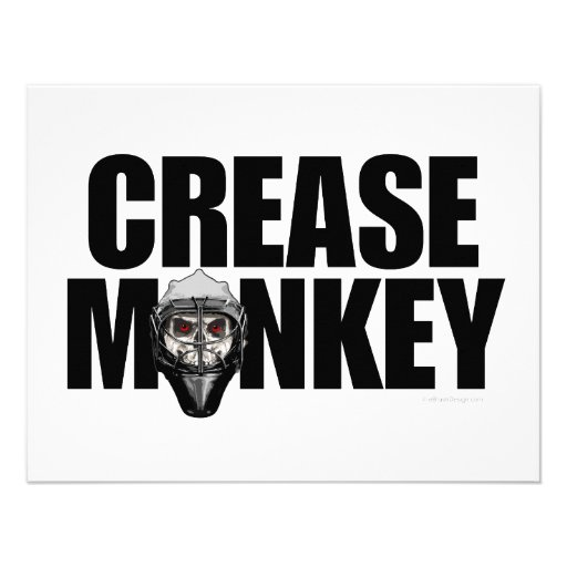 Crease Monkey Invitation