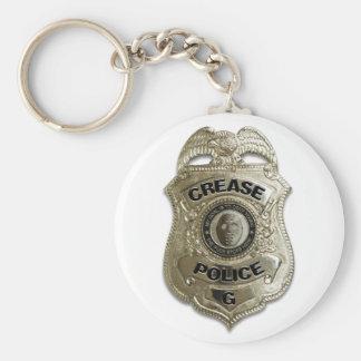 Crease Police (Hockey Goalie) Keychain