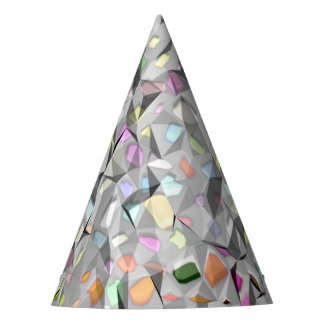 Creased Colors party hat