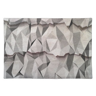 Creased paper pattern place mats
