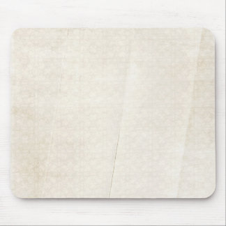 creased soft cream pattern background mouse pad