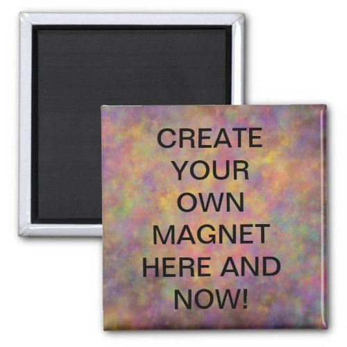 Creat Your Own Magnets