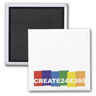 Create 24x365 2 inch square magnet