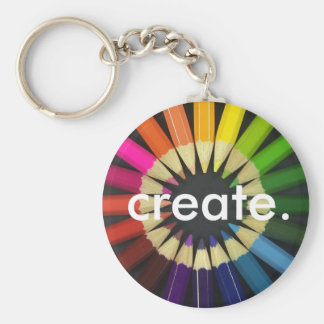 Create a Colorful Life Key Chain