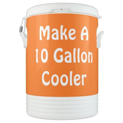 Create A Cooler  DIY