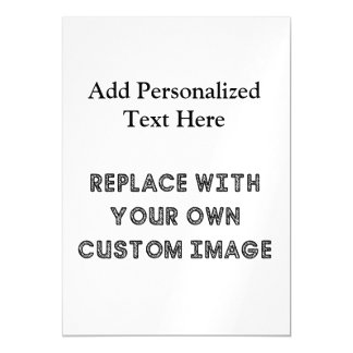 Create A Custom Design With Your Image And Text Magnetic Card