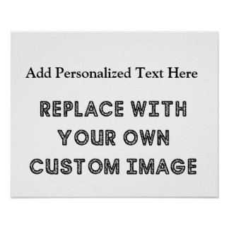 Create A Custom Design With Your Image And Text Poster