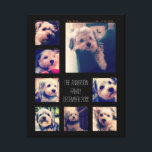 """Create a Custom Photo Collage with 8 Photos Canvas Print<br><div class=""""desc"""">Use your favorite photo or pictures to make a fun keepsake to share with friends.</div>"""