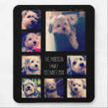 """Create a Custom Photo Collage with 8 Photos Mouse Pad<br><div class=""""desc"""">Use your favorite photo or pictures to make a fun keepsake to share with friends.</div>"""