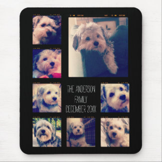 Create a Custom Photo Collage with 8 Photos Mouse Pad