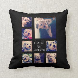 Create a Custom Photo Collage with 8 Photos Pillows