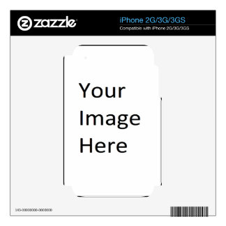 Create a Custom Skin Template Decal For The iPhone 3G