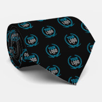 Create A Custom SMALL Business Logo   Your Color Neck Tie