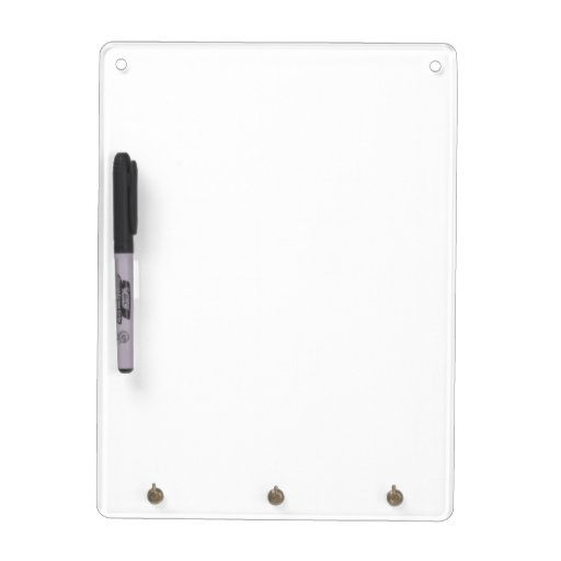 Create A Dry Erase Board With Keychain Holder