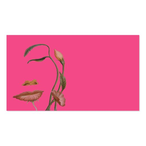 Create a Face Flower Illusion Business Card