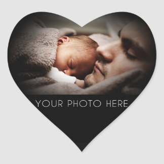 Create A Family Photo Gift Heart Stickers