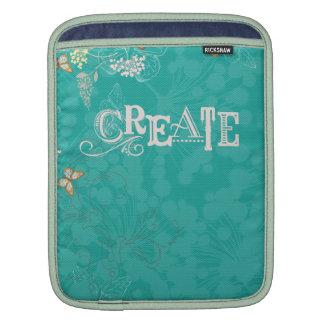 Create:  A Fresh Start iPad Sleeves