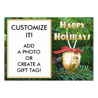 Create a GIFT TAG Business Cards