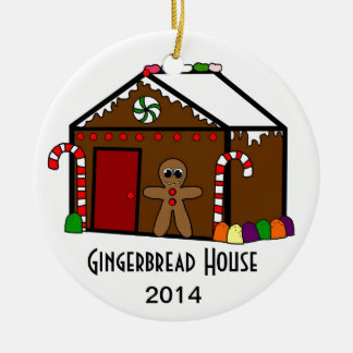 Create A Gingerbread House (Customizable Date) Ornaments
