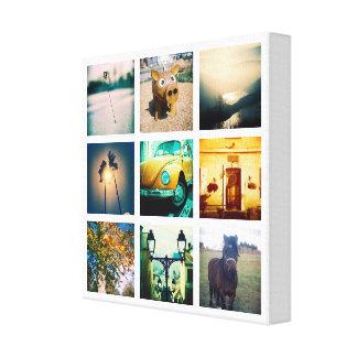Create a unique and original instagram canvas print