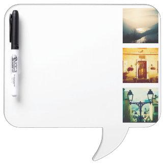 Create a unique and original instagram Dry-Erase board