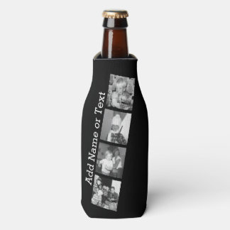 Create an Instagram Collage with 4 photos - black Bottle Cooler