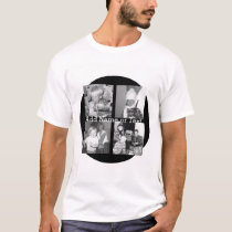 Create an Instagram Collage with 4 photos - black T-Shirt