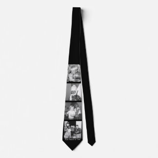 Create an Instagram Collage with 4 photos - black Tie