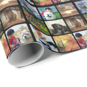 Create an Instagram Photo Collage Christmas Wrapping Paper