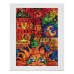 Create Art Every Day Posters