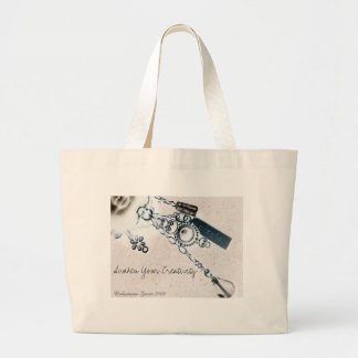 Create, Awaken Your Creativity ! Large Tote Bag