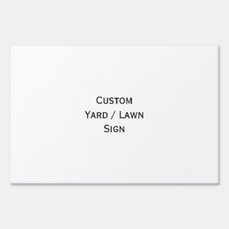 Create Big Custom Lawn Yard Sign - Large Size
