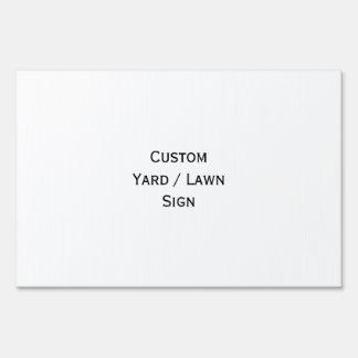 Create Big Custom Lawn Yard Sign - Large Size
