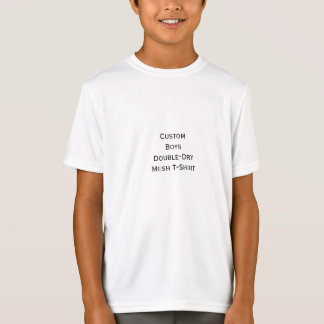 Create Boys Custom Sports Double-Dry Mesh T-Shirt