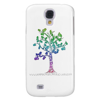 Create Color Tree Lines Samsung Galaxy S4 Cover