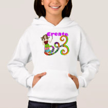 Create Colorful Mermaid Muse Hoodie