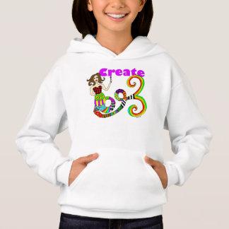 Create Colorful Mermaid Muse Hoodie