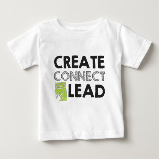 Create Connect Lead (light) Baby T-Shirt
