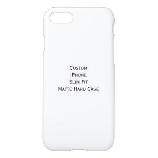 Create Cool Custom iPhone Slim Fit Matte Hard Case