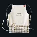 """Create Custom Cooking Paint Gardening Plaid Apron<br><div class=""""desc"""">Create your own custom, personalized, cooking painting gardening plaid apron. Simply click """"Customize It"""" to add your photos and text! While you add/design, you&#39;ll be able to see a preview of your creation, throughout. TIP 1: If you add text, do go through the list of fonts. There are some awesome,...</div>"""