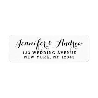 Create Custom Elegant Wedding Label at Zazzle