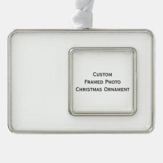 Create Custom Framed Photo Christmas Ornament